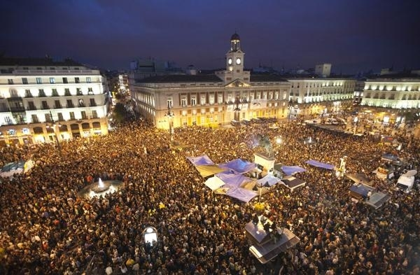 Διαμαρτυρίες στην Ισπανία